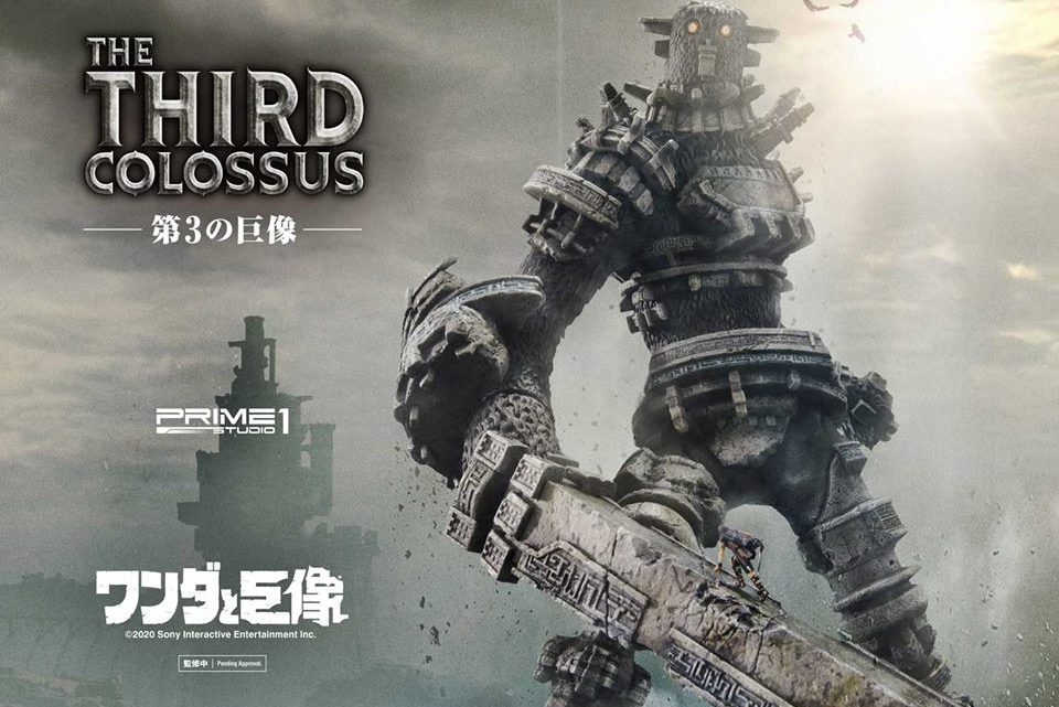 "Prime 1 Studio: The Third Colossus da ""Shadow of the Colossus"""