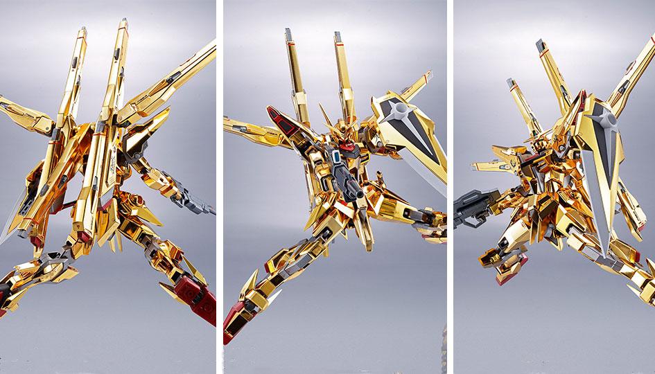 Akatsuki Gundam Shiranui Unit Metal Robot Spirits di Tamashii Nations