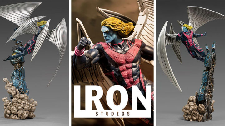 Iron Studios: Archangel BDS Art Scale 1/10 – Marvel Comics