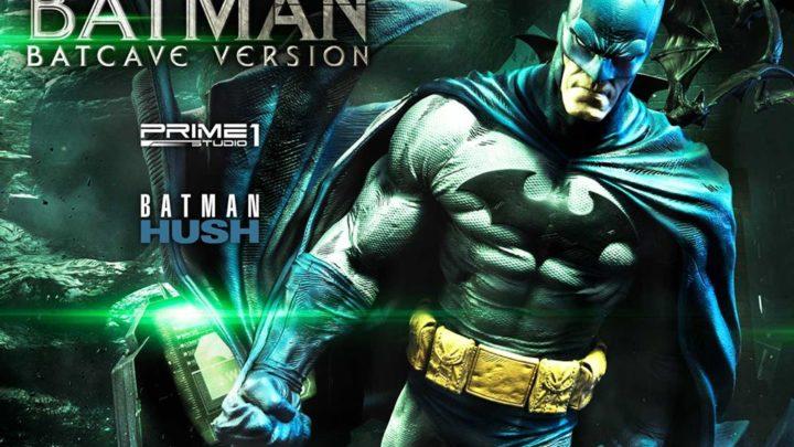 """Prime 1 Studio: Batman Batcave Version & Premium Bust da """"Batman: Hush Comics"""""""
