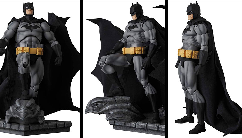 Batman Hush Black Ver. Mafex di Medicom Toy