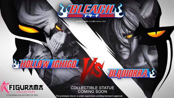 "Figurama Collectors: Hollow Ichigo Vs Ulquiorra da ""Bleach"" teaser"