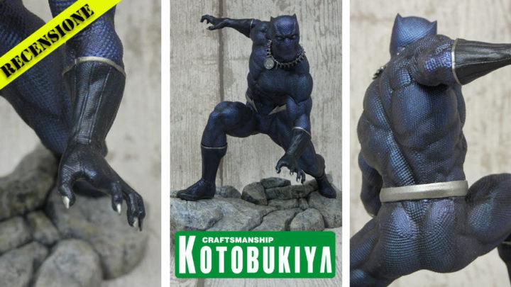 Recensione Black Panther ARTFX Premiere da Kotobukiya
