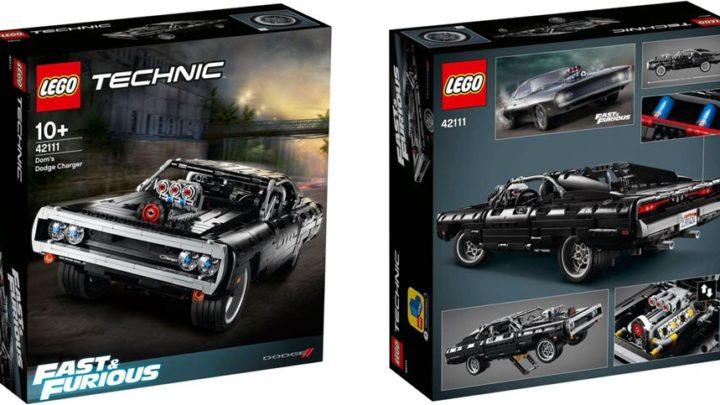 "LEGO: Dom's Dodge Charger  da ""Fast & Furious"" (42111)"