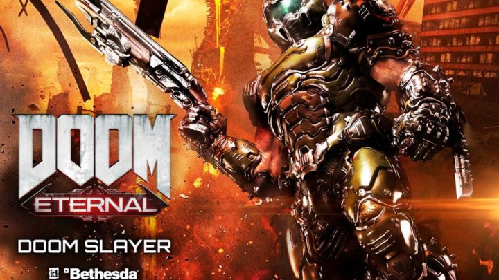 "Prime 1 Studio: DOOM Slayer da ""DOOM Eternal"""