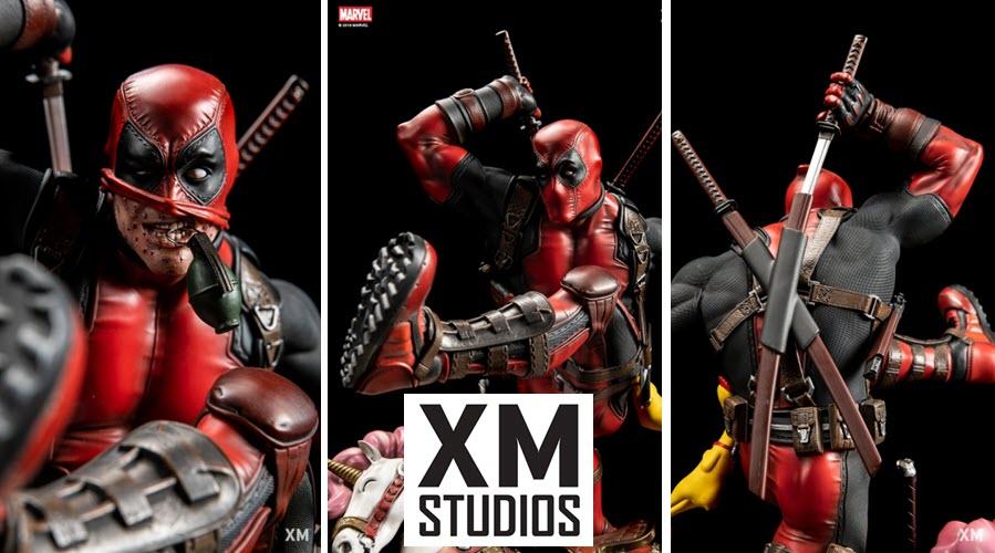 XM Studios: Deadpool 1/4 Premium Collectibles Statue