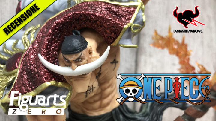 "Edward Newgate ""Whitebeard Pirates Commander"" Figuarts ZERO di Tamashii Nations – Recensione"