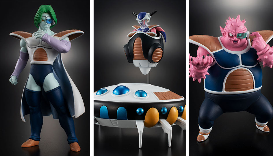 Freezer Army Invasion HG Dragon Ball di Bandai