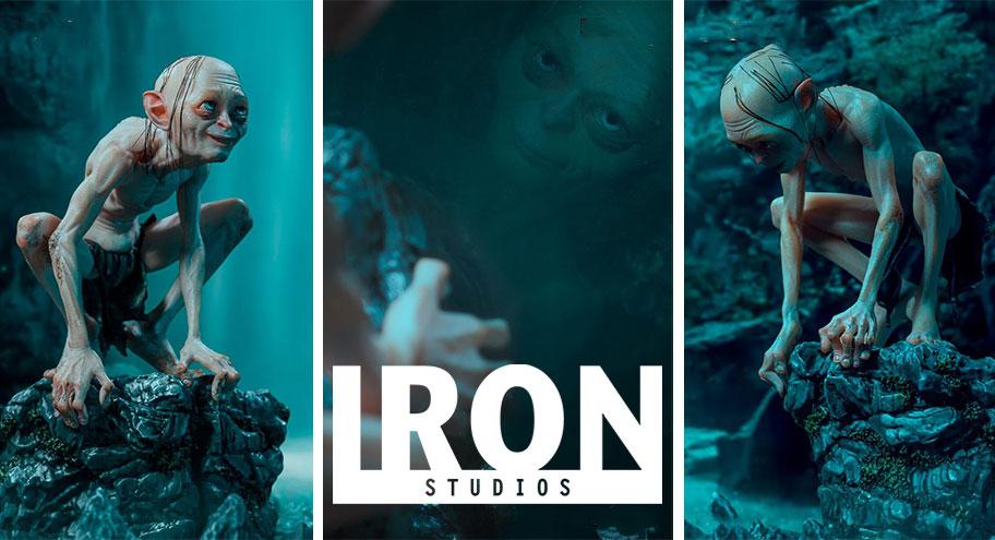 Iron Studios: Gollum Deluxe Art Scale 1/10