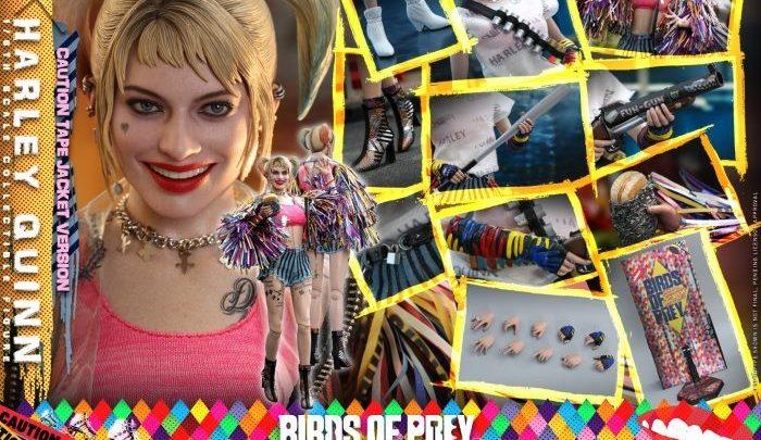 "Hot Toys: Harley Quinn Caution Tape Jacket da ""Birds of Prey"""