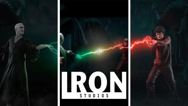 Iron Studios: Harry Potter Vs Voldemort BDS Art Scale 1/10