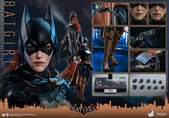 "Hot Toys: Batgirl da ""Batman: Arkham Knight"""