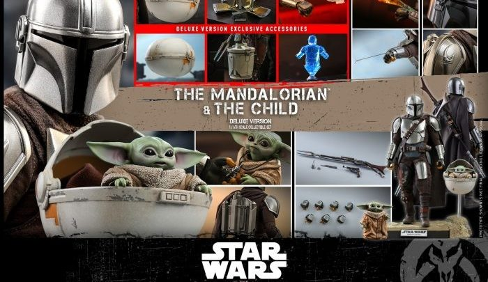 """Hot Toys: """"The Mandalorian & The Child"""" Collectible Set (Deluxe Version)"""