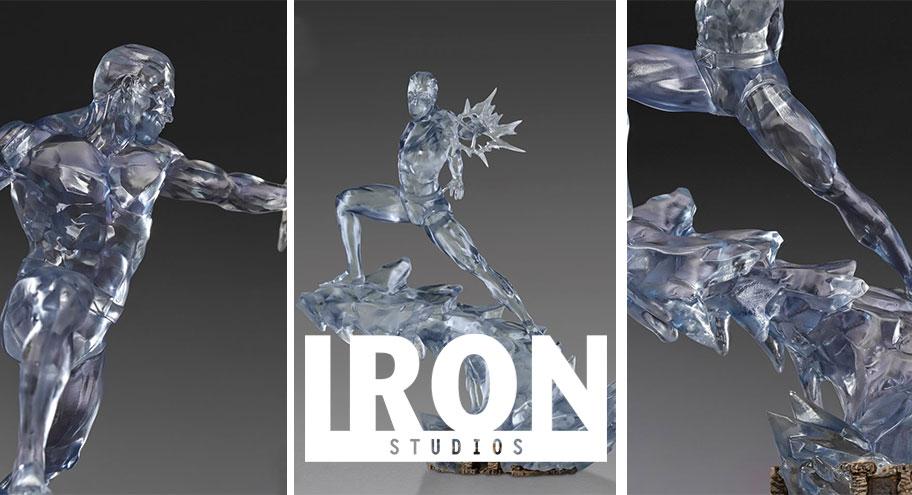 Iron Studios: Iceman BDS Art Scale 1/10 – Marvel Comics