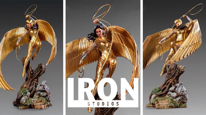 Iron Studios: Wonder Woman Deluxe Art Scale – WW84