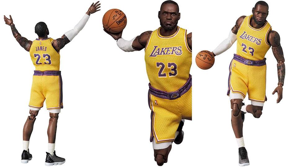 LeBron James (L.A. Lakers) Mafex di Medicom Toy