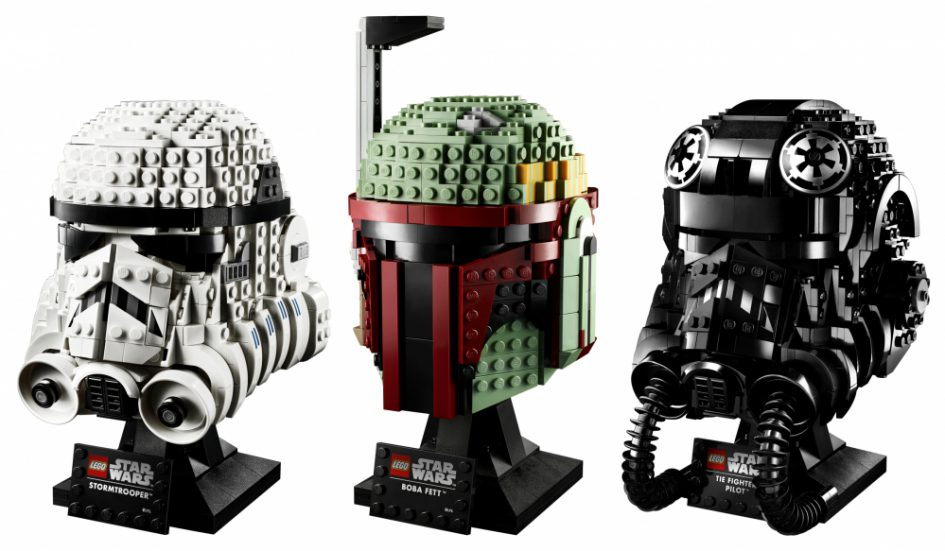LEGO Star Wars: o caschi di Star Wars