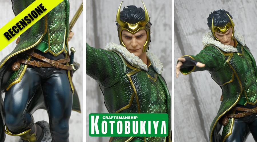 Recensione Loki ARTFX Premiere da Kotobukiya