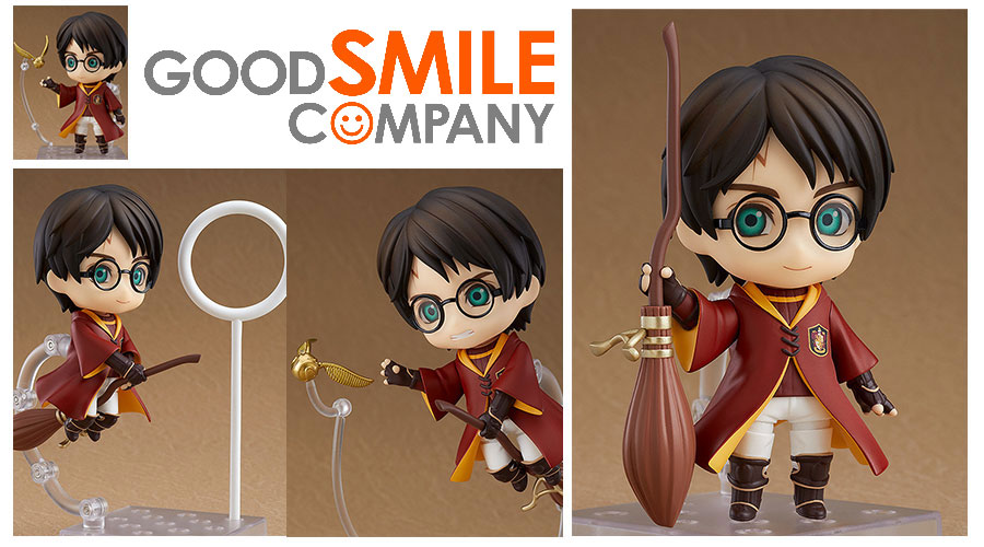 Good Smile Company: Nendoroid Harry Potter Quidditch Ver.