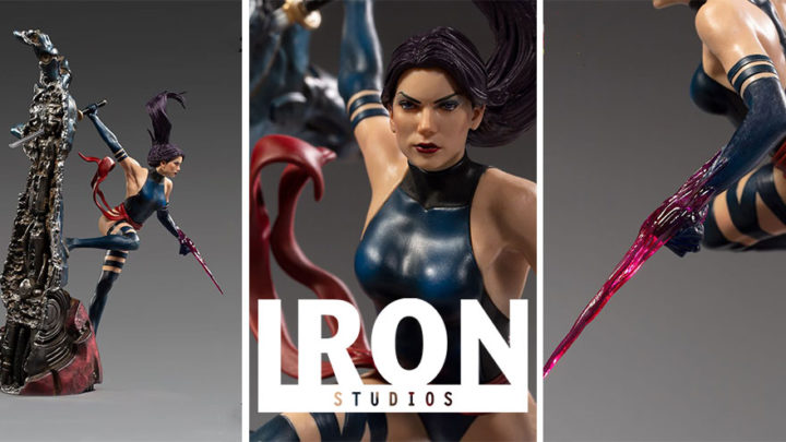 Iron Studios: Psylocke BDS Art Scale 1/10 – Marvel Comics