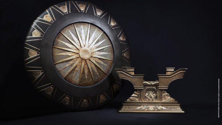Lo scudo di Wonder Woman dalla Queen Studios