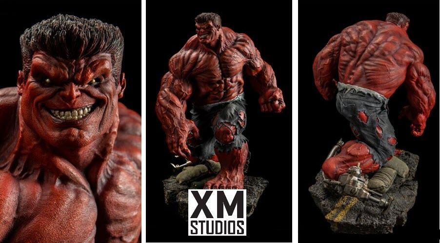 XM Studios: Red Hulk 1/4 Premium Collectibles Statue