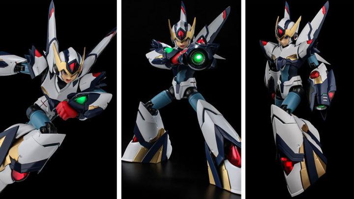 Rockman X Falcon Armor Ver. Eiichi Shimizu RIOBOT di Sentinel