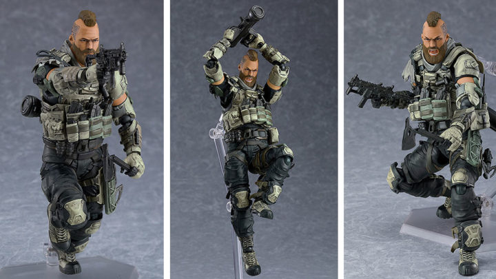 "Ruin da ""Call of Duty: Black Ops 4"" Figma di Max Factory"