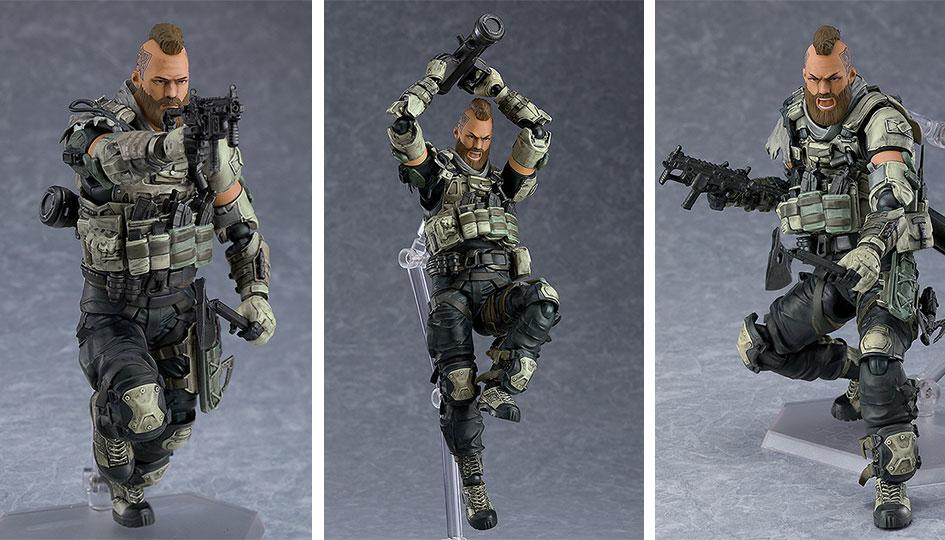 "Ruin da ""Call of Duty: Black Ops 4"" Figma di Max Factory"