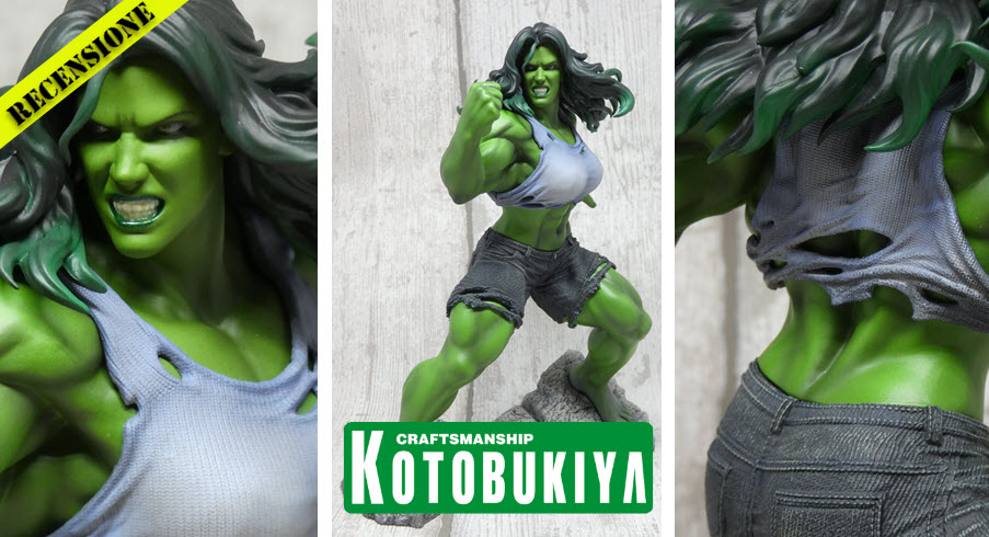 Recensione She-Hulk ARTFX Premiere da Kotobukiya