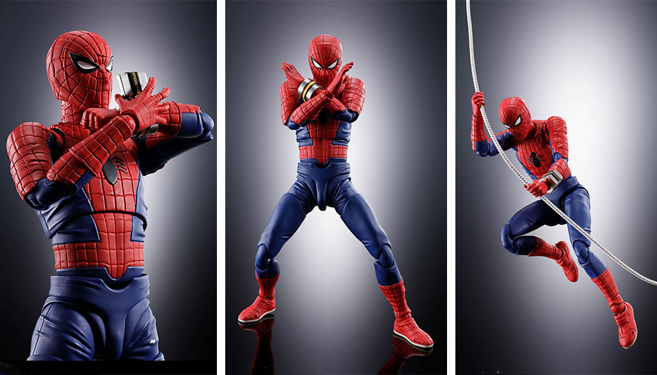 "Spider-Man S.H.Figuarts -""Spider-man"" Toei TV Series- di Tamashii Nations"
