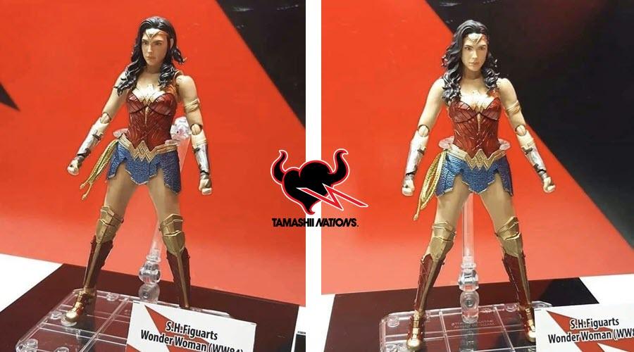 Prime immagini di Wonder Woman 1984 S.H. Figuarts