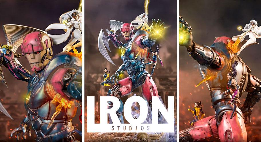 Iron Studios: X-Men vs Sentinel #3 Deluxe & Sentinel #3 BDS Art Scale 1/10 – Marvel Comics