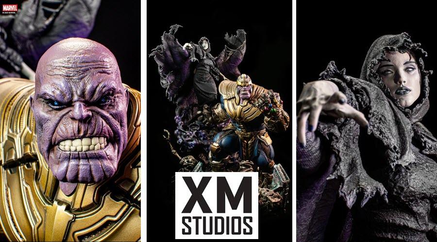 XM Studios: Thanos e Lady Death