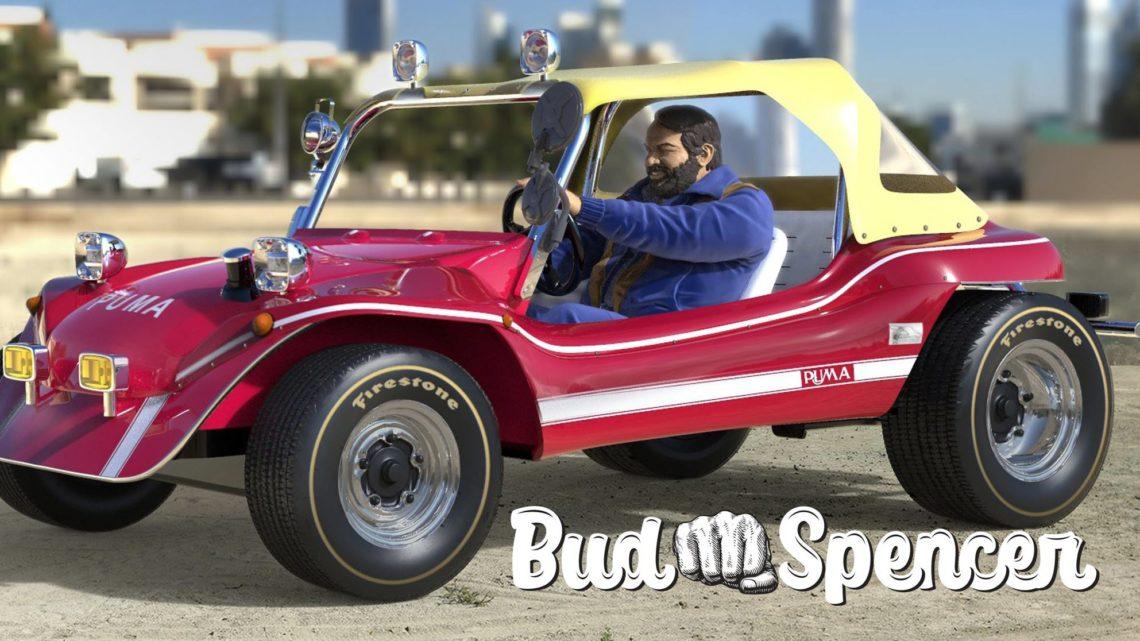 Infinite Statue: Dune Buggy di Bud Spencer