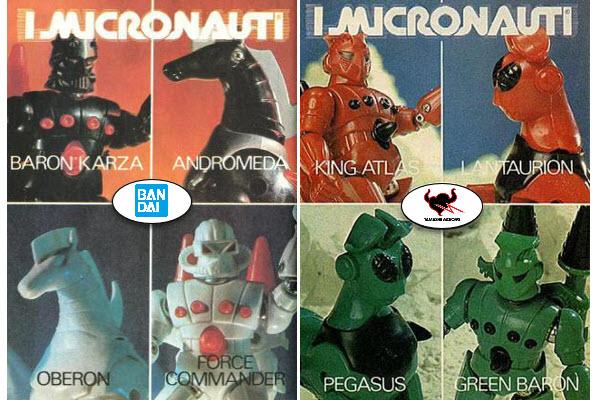Bandai annucia i Micronauti