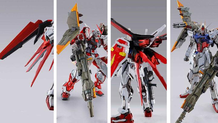 Aile Striker e Launcher Striker Metal Build di Tamashii Nations