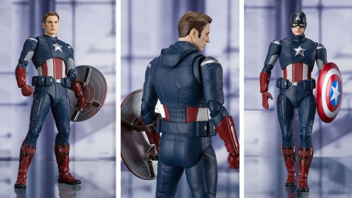 Captain America (CAP VS. CAP) EDITION -Avengers: Engame- S.H.Figuarts di Tamashii Nations