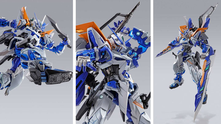 Gundam Astray Blue Frame Second Revise Metal Build di Tamashii Nations