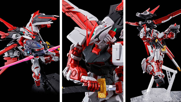 Gundam Astray Red Frame Flight Unit Master Grade di Bandai Spirits