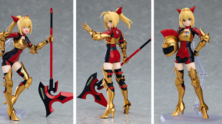 Nero Claudius: Racing vers. Figma di Goodsmile Racing & Type-Moon Racing