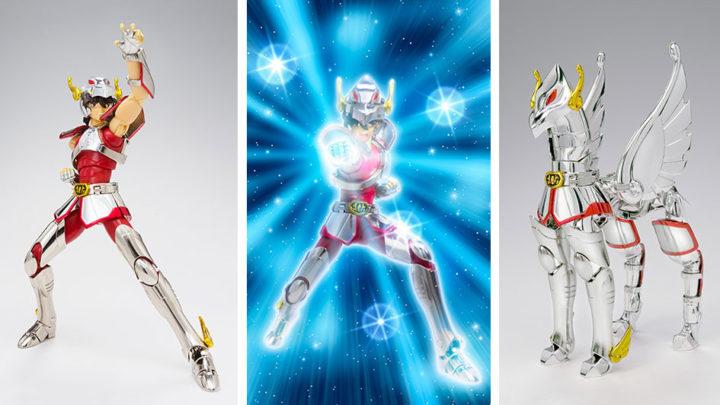 Pegasus Seiya V1 Revival Version Myth Cloth di Tamashii Nations in ristampa