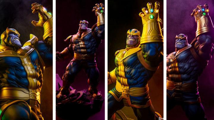 Sideshow: Thanos (Classic e Modern Version) Avengers Assemble