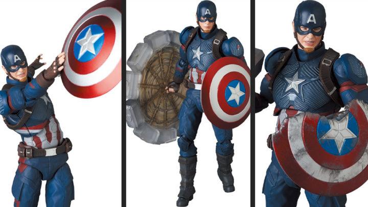 Captain America (Endgame Ver.) Mafex di Medicom Toy