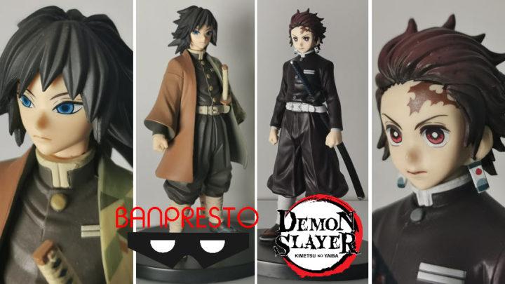 Banpresto: Demon Slayer – Tanjiro Kamado e Giyu Tomioka- Recensione