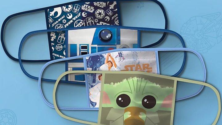 Disney lancia una collezione di mascherine lavabili
