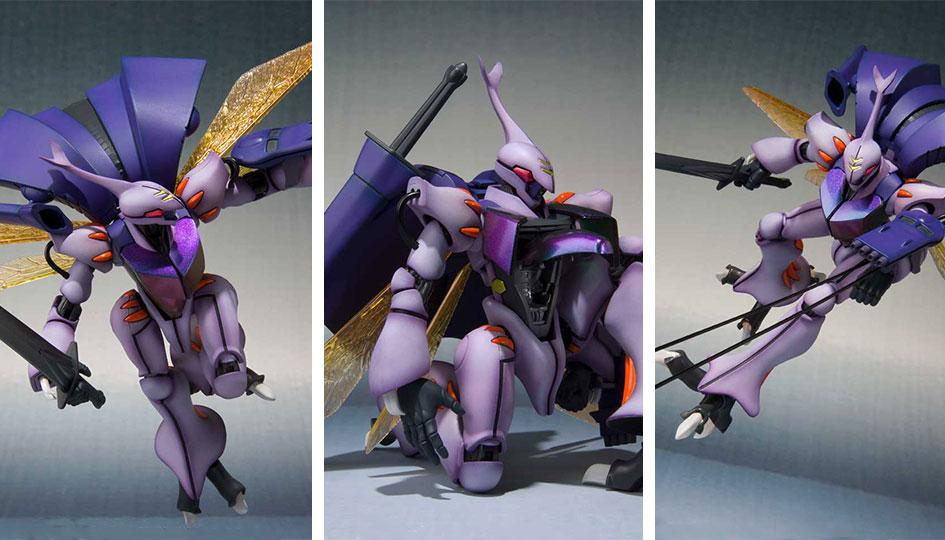 Dunbine (Shadow Finish Ver.) The Robot Spirits di Tamashii Nations
