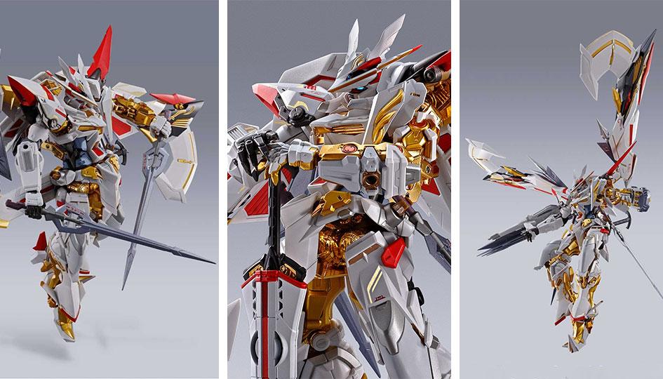 Gundam Astray Gold Frame Amatsu Hana Version Hana Metal Build di Tamashii Nations