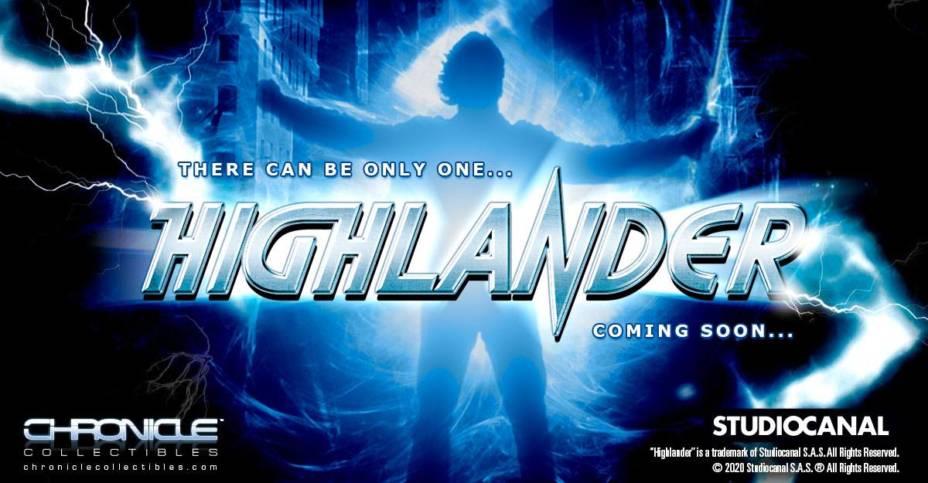 "La licenza ""Highlander"" da Chronicle Collectibles"