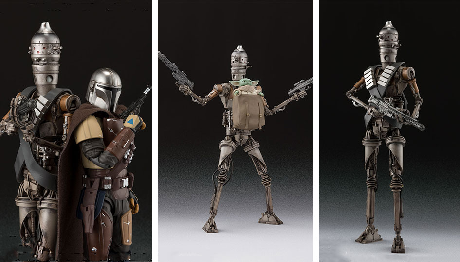 IG-11 -The Mandalorian- S.H.Figuarts di Tamashii Nations